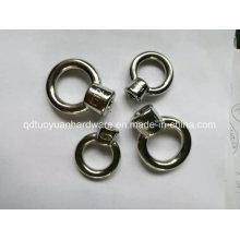Fornecedor da fábrica aparelhamento porca/parafuso de aço inoxidável DIN582 olho
