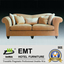 High Quality Hotel Fabric Sofa Set (EMT-SF45)