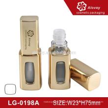 Kunststoff billig lipgloss Rohrbehälter mit Pinsel