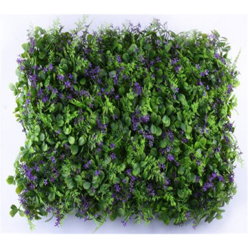 Anti-uv plastik buatan Vertical garden plant Grass Wall