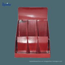 Exhibición de la tarjeta de presentación Tablero de cartón corrugado Tablero de notas adhesivas Pantalla