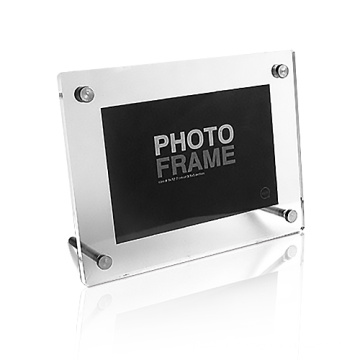 2016 Inovador Acrylic Photo Frame Holder Picture Display Frame, Frame Foto de plástico