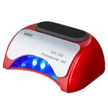 48W LED lámpara de uñas LED CCFL Secadora Máquina UV Gel Esmalte de uñas Curado