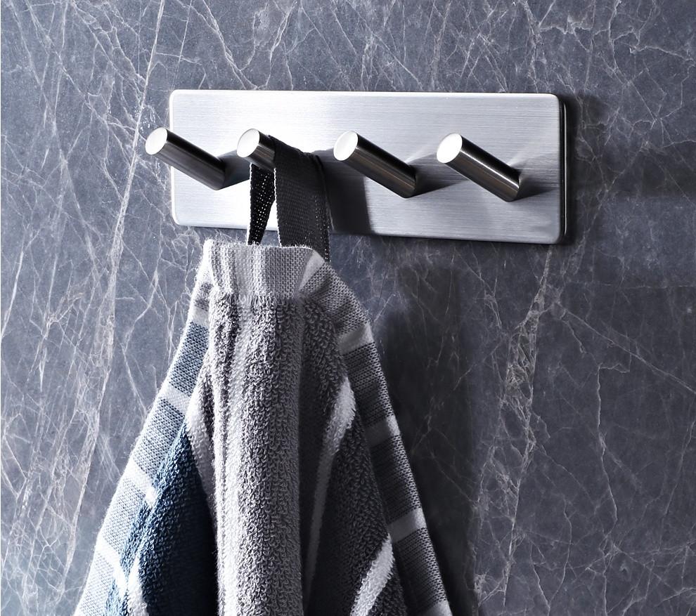 Stainless Steel Rustproof 4-Hook
