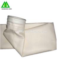 Sac filtrant de poussière de haute qualité / feutre de PPS / sac de PPS