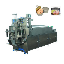 Tuna processing factory complete line for canned tuna
