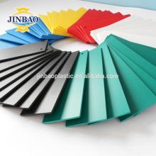 JINBAO 4x8 feuilles de mousse noir dur matériel de table à café