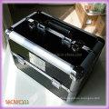 Silver Aluminum Frame Hard Shell Beauty Case (SACMC111)