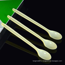Custom Injection Tooling Plastic Water Spoon Mould /Custom Injection Disposable Plastic Cutlery Spoon Mould for Sale