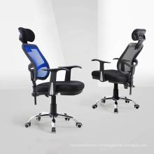 Cadeira executiva de escritório design moderno simples com rodas e fabricante de braços para a vida comercial