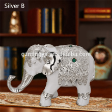 Thailand style elephant resin crafts for home decoration,Home creative resin elephant craft