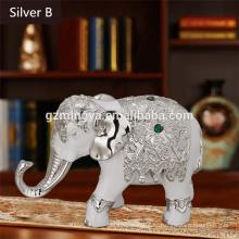 Таиланд стиль слон смолы ремесел для украшения дома,Домашний творческий смола слон ремесла