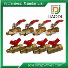 China fabricante amostra livre 1 2 0,5 1/2 6 polegadas npt rosqueado laiton cobre forjado e latão válvula de controle dn50
