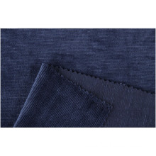 18Wales Polyester Knitted Corduroy Fabrics with Stretch