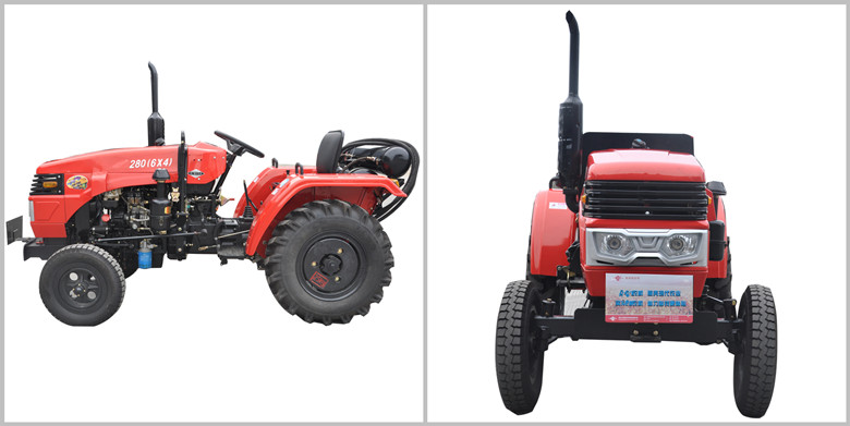 Farm Use Track Tractors with High Quality YTO Engine