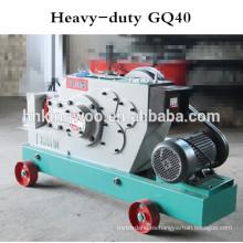 Máquina de procesamiento de barras de refuerzo GQ50 4Kw 380V, máquina de corte de barras GQ40