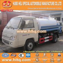 FOTON 4X2 2000L guter Qualitätswassertank-LKW-Minilaser-heißer Verkauf