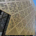 Architectural Metal Decorative Laser Cutting Wall Panel