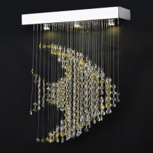 gold crystal lighting fixtures handmade led chandelier