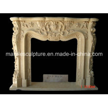 Sculpture Marble Fireplace Surround (SY-MF033)