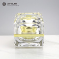 50 g Luxury Square Wide Mouth Cosmetic Jar