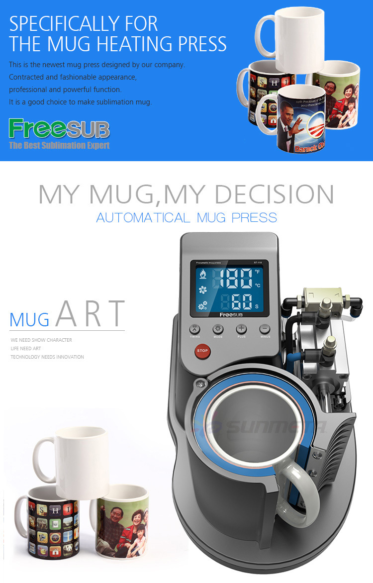 FREESUB Sublimation Mug Printing Heat Press Machine
