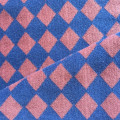 Tencel cotton rhombus Jacquard fabric