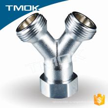 латунь Y шаблон никелирование соединение трубы