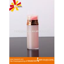 Emballage de lotion pour corps en beauté en aluminium double bouteille sans air