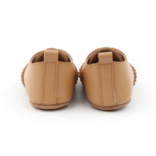 Braunes Baby Kids Soft Oxford Schuhe