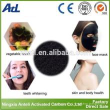 Teeth Bright tasteless organic activated charcoal powder for teeth whitening