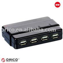 Floppy 4 Gruppen HDD Power Switcher