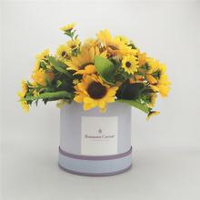 Цилиндр Свадебные Цветочные Упаковка Подарочная Коробка
