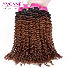 Wholesale High Quality Kinky Curly Remy Ombre Brazilian Hair