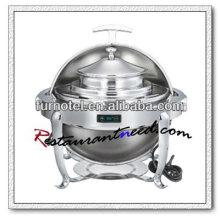 C371 plato de frotamiento redondo de control de temperatura de acero inoxidable Mini plato de frotamiento