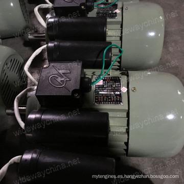 0.5-3.8HP monofásico de doble valor de inducción AC Electirc Motor para uso de la máquina de corte de planta, fábrica directa, promoción de motor