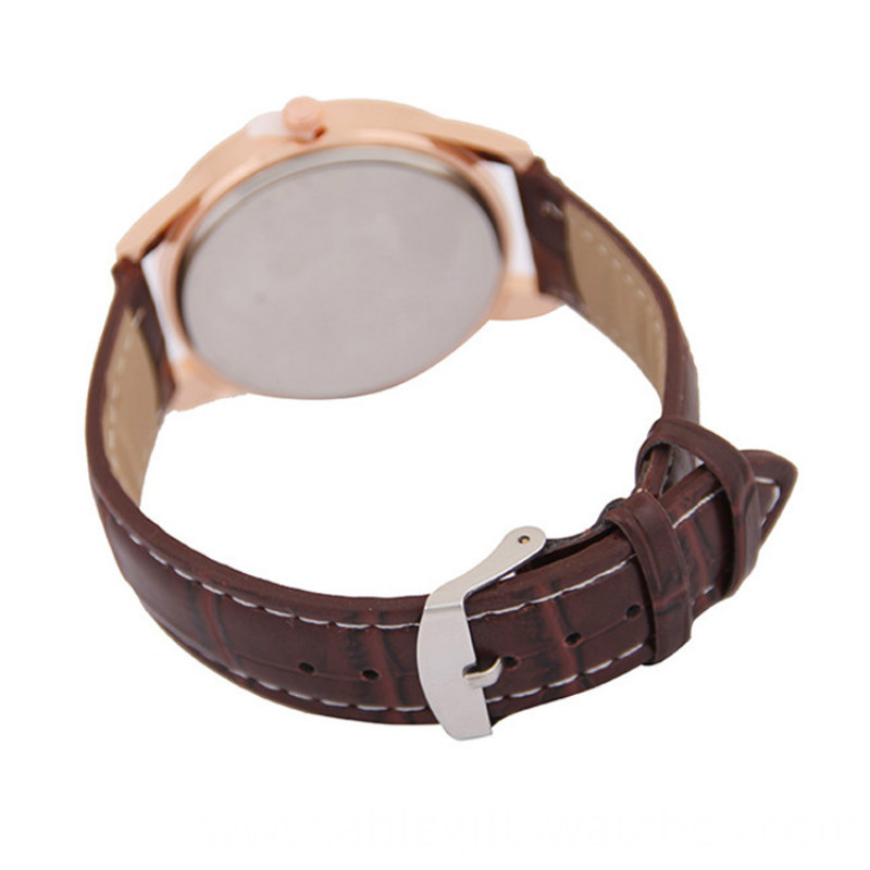 genuine leather metarial watch