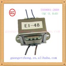 RoHS CQC 6.0w-20.0w ei 48 ei laminate transformer