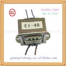 RoHS CQC 6.0w-20.0w ei 48 ei transformador laminado