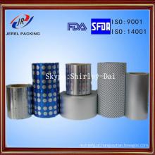 Folha de alumínio farmacêutica da bolha para a embalagem dos comprimidos