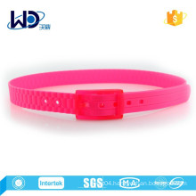2015 Pink Color Unisex 100% Silicone Belts