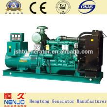 500kw CE Aprobado Refrigerado por agua Tipo Abierto Yuchai Generator