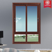 Modern Horizontal Sliding Aluminium Windows with Quality Insulating Glass