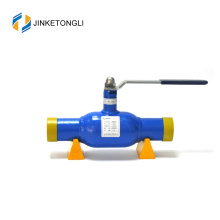 JKTL diferentes tipos de conexiones finales brida roscada válvula de bola flotante completamente soldada
