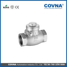 Обратный клапан CF8 с резьбой BSP с лучшей ценой