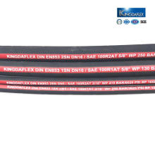 1/2 Inch Oil Resistant High Pressure Rubber Hydraulic Hose Pipe