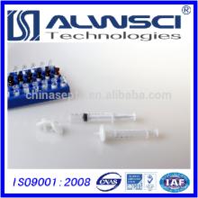 Filtro de seringa de nylon soldado de 25mm 0.22um pore