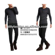 Novas calças de vison de inverno de moda 2017 para homens