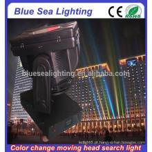 GuangZhou 4/5/7 / 10KW movendo cabeça luz céu cor mutável para terra verde