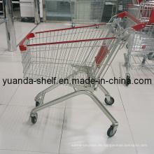 Großhandels-Supermarkt benutzte Speicher-Einkaufswagen